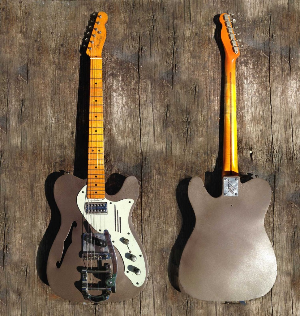 1535 -SteelFenderTele twin